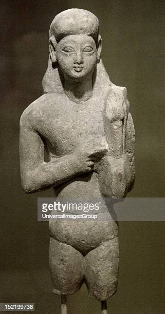 ART CYPRUS Apollo with his lyre Found in Poros Dated between 600550 bC Museum of Cycladic and Ancient Greek Art Athens Greece