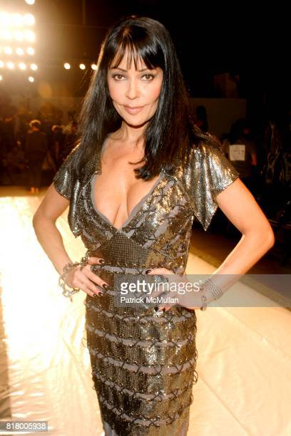 Apollonia attends Richie Rich 2011 Fashion Show at The Studio at Lincoln Center on September 9 2010 in New York City
