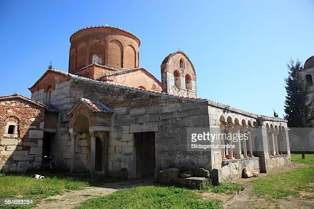 Apollonia Illyria a ancient greek city in Albania Monastery and church of Saint Mary