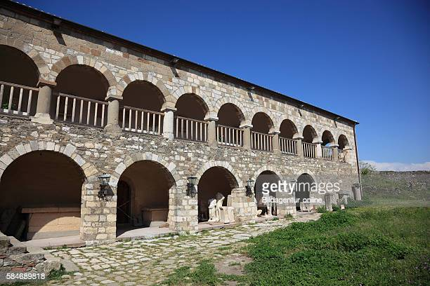 Apollonia Illyria a ancient greek city in Albania Monastery of Saint Mary