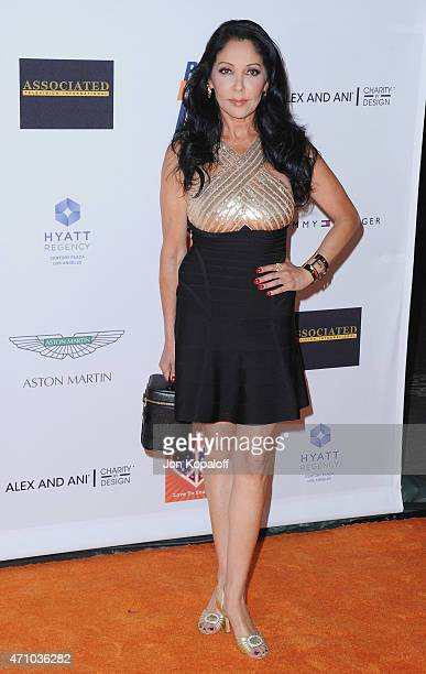 Apollonia Kotero arrives at the 22nd Annual Race To Erase MS at the Hyatt Regency Century Plaza on April 24 2015 in Century City California
