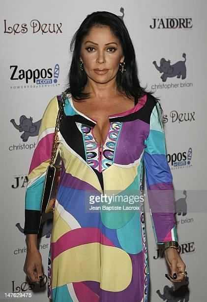 Apollonia Kotero at Kim Kardashian's 27th Birthday Party on October 21 2007 at Les Deux in Hollywood California