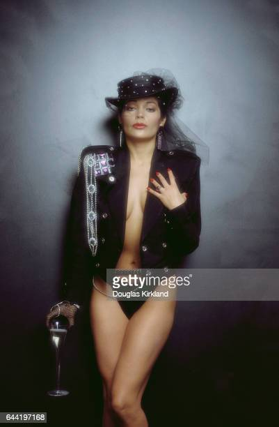 Apollonia Kotero at the time of the release of Purple Rain