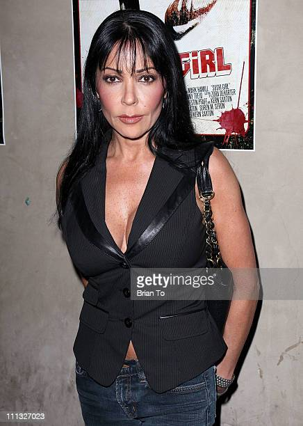 Apollonia Kotero attends Sushi Girl official wrap party at Las Palmas on March 30 2011 in Hollywood California
