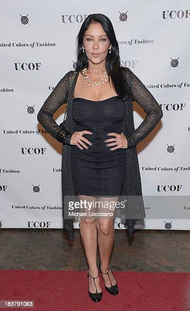 Apollonia Kotero attends the 3rd Annual United Colors Of Fashion Gala at Lexington Avenue Armory on October 9 2013 in New York City