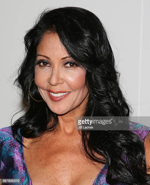 Apollonia Kotero attends The Academy Of Picture Arts Sciences' Screening and QA for 'Purple Rain' at The Samuel Goldwyn Theater on August 29 2016 in...