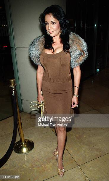 Apollonia Kotero during 2005 Nosotros Golden Eagle Awards at Beverly Hilton Hotel in Beverly Hills California United States