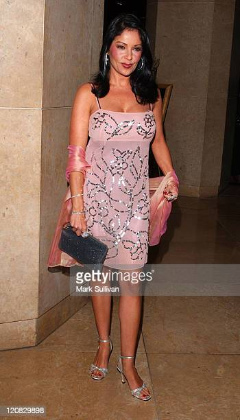 Apollonia Kotero during 34th Annual Nosotros Golden Eagle Awards Arrivals at Beverly Hilton Hotel in Beverly Hills California United States
