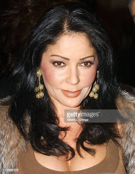 Apollonia Kotero during 35th Annual Nosotros Golden Eagle Awards at The Beverly Hilton Hotel in Beverly Hills California United States