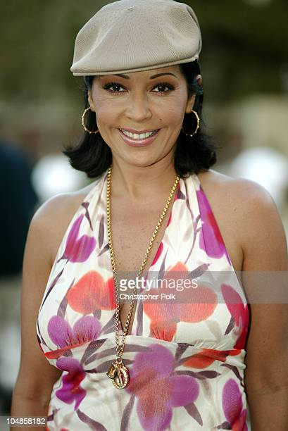Apollonia Kotero during GibsonBaldwin Night at the Net at UCLA in Westwood CA United States
