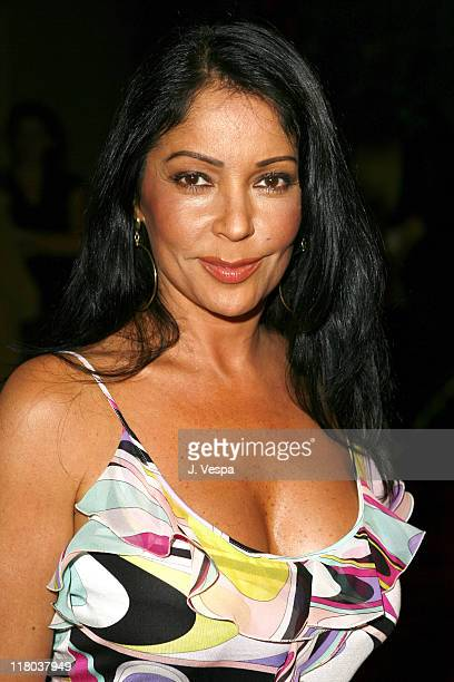 Apollonia Kotero during Wolfgang Puck Cut Steakhouse Opening at Regent Beverly Wilshire in Beverly Hills California United States