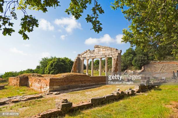 Apollonia or Apoloni Fier Region Albania Ancient Greek city founded in the 6th century BC which became one of Rome's most important Albanian cities...