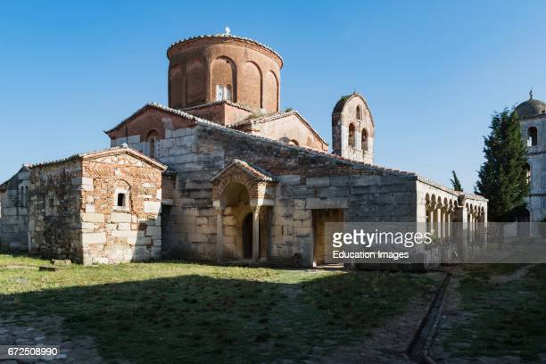 Apollonia or Apoloni Fier Region Albania Thirteenth century monastery and Church of St Mary or Shen Meri
