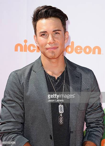 Apolo Ohno attends the 2014 Nickelodeon Kids' Choice Sports Awards at Pauley Pavilion on July 17 2014 in Los Angeles California