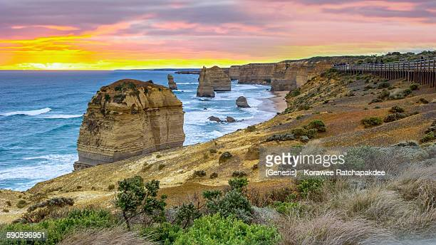 12 Apostles in the sunset