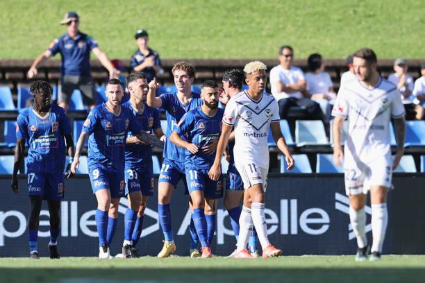AUS: A-League - Newcastle Jets v Melbourne Victory