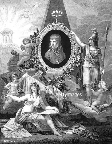Apotheosis of Bonaparte First Consul of the French Republic1800Engraving