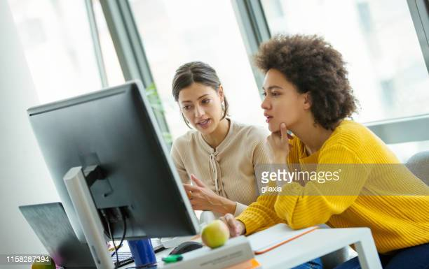 app developers at the office. - trainee stock pictures, royalty-free photos & images