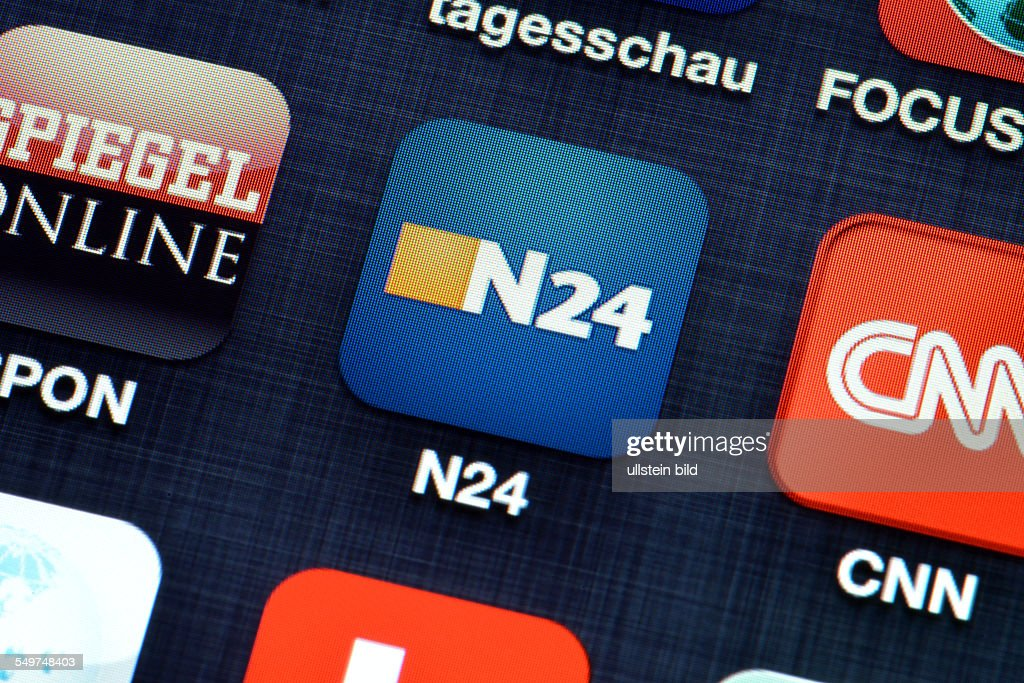 App, N24, Smartphone Photo d'actualité - Getty Images
