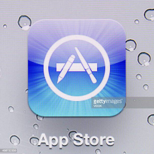 app store - computer icon stock photos and pictures