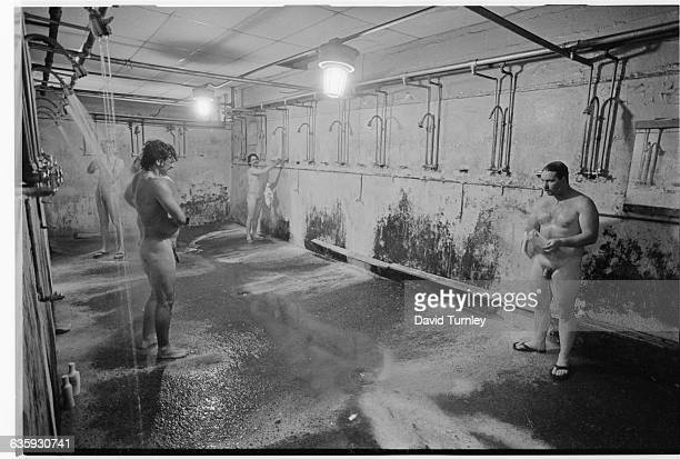 Appalachian Miners Showering