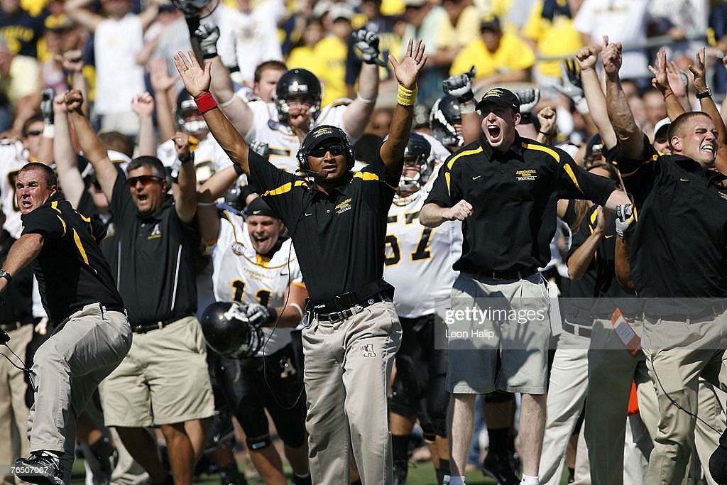 Appalachian State v Michigan Wolverines : News Photo