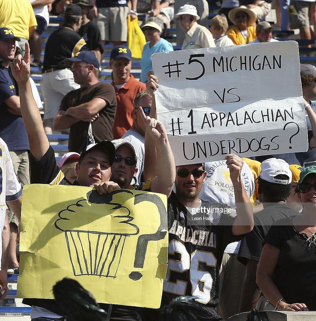 Appalachian State v Michigan Wolverines : News Photo
