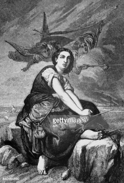 Apparition de l'archange saint Michel à Jeanne d'Arc à Domrémy France