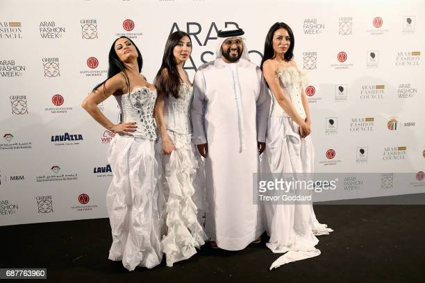 Appassionante attend and Perform at Arab Fashion Week Ready Couture Resort 2018 Gala Dinner on May 202017 at Armani Hotel in Dubai United Arab...