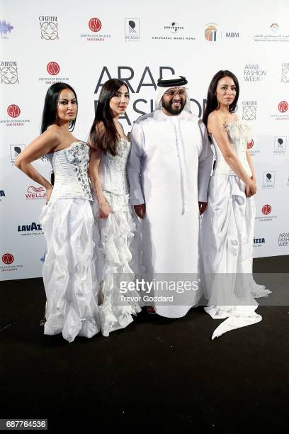 Appassionante attend and Perform the Arab Fashion Week Ready Couture Resort 2018 Gala Dinner on May 202017 at Armani Hotel in Dubai United Arab...