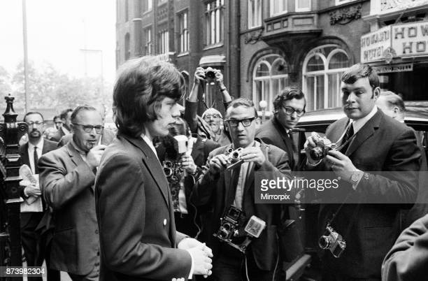 Appeal hearing at the Appeal Court in Central London where Rolling Stones lead singer Mick Jagger and Keith Richards had their convictions and...