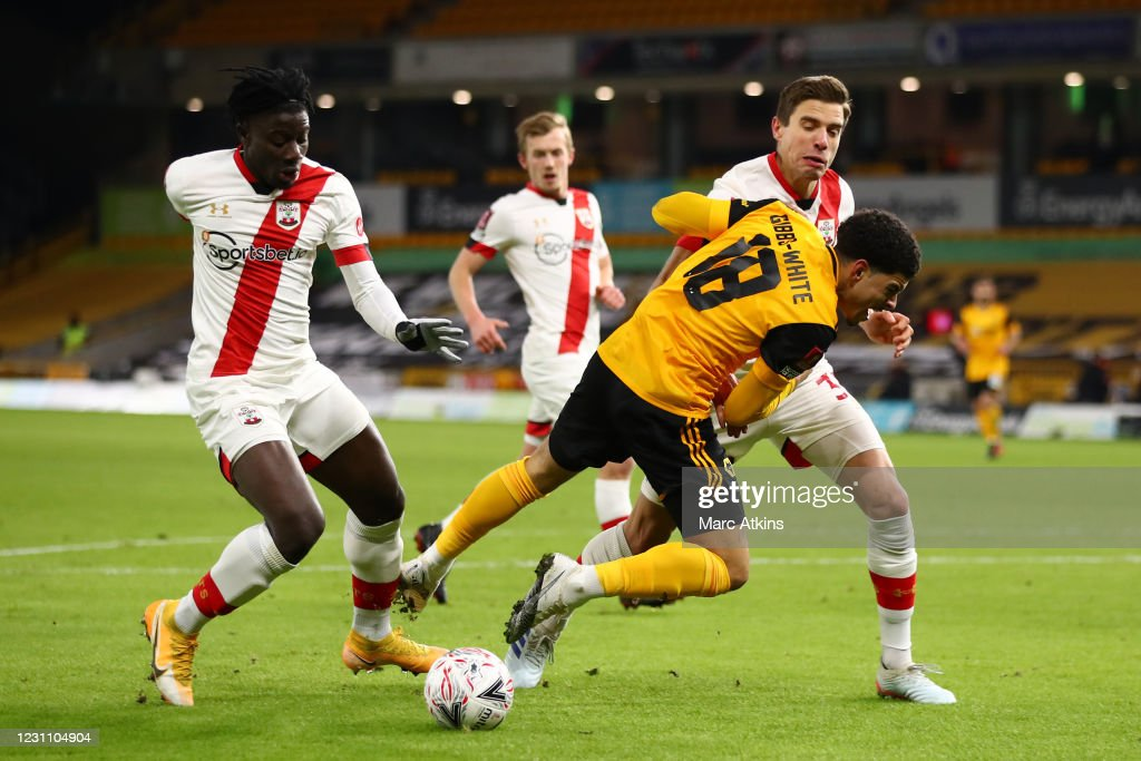 Wolverhampton Wanderers v Southampton: The Emirates FA Cup Fifth Round : News Photo