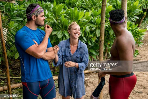 'Appearances Are Deceiving' Davie Rickenbacker Kara Kay and Jeremy Crawford compete on SURVIVOR when the Emmy Awardwinning series returns for its...