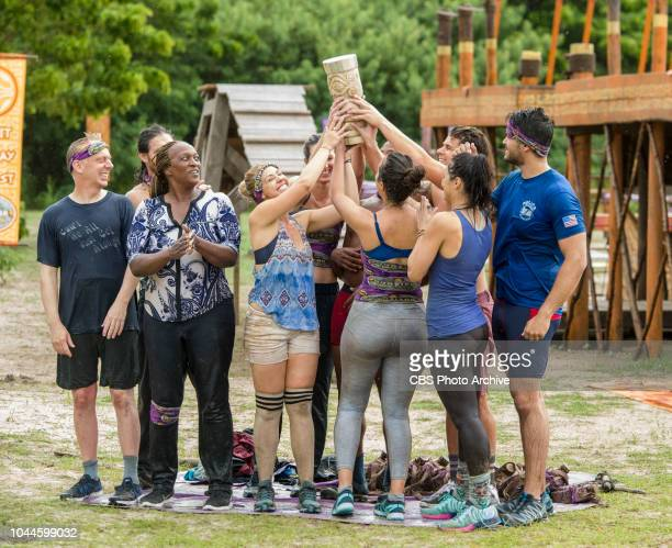 Appearances Are Deceiving Mike White Natalie Cole Kara Kay and the rest of the Goliath Tribe Celebrates on SURVIVOR when the Emmy Awardwinning series...