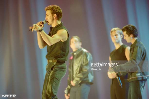 A1 appearing at Showtime at The Millennium Stadium Cardiff Wales United Kingdom Concert featuring many of the pop stars of 2001 Picture taken 20th...