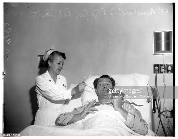 Appendectomy June 5 1951 Red SkeltonGeorgia SkeltonNurse Caroline PlescherMore descriptive information with originals