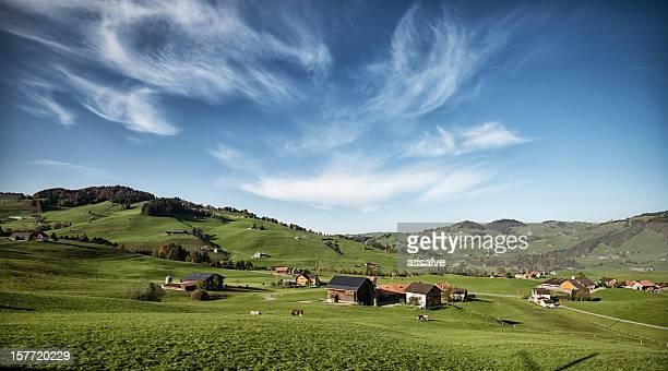 Appenzellerland in der Schweiz