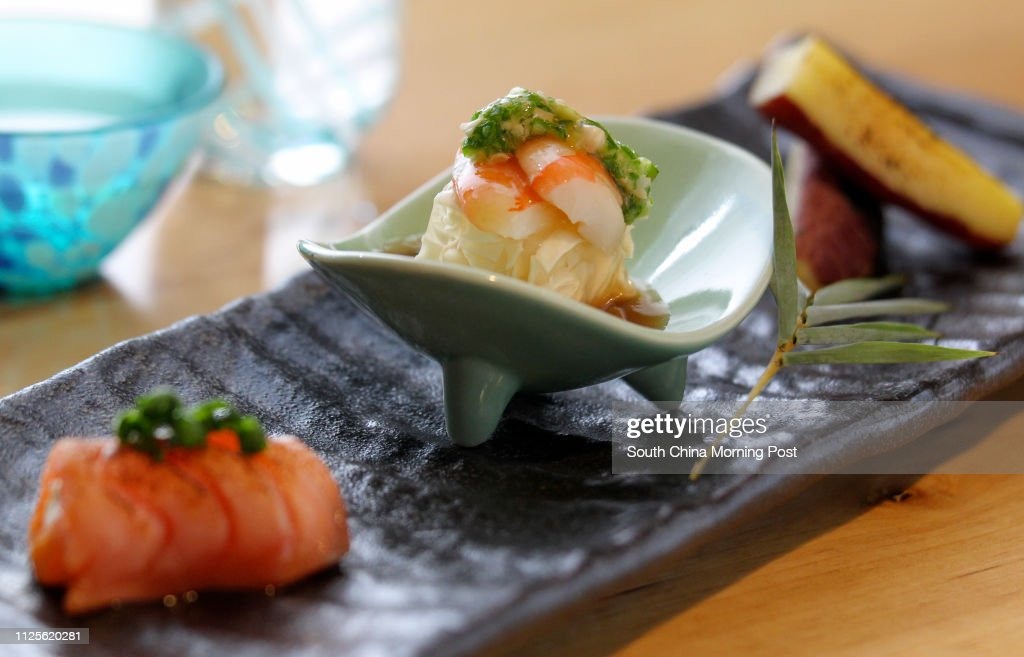 Smoked Salmon With Hokkaido Cream Cheese Beancurd Sheets With Sweet News Photo Getty Images
