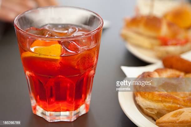 appetizer at the bar - aperitif stock photos and pictures