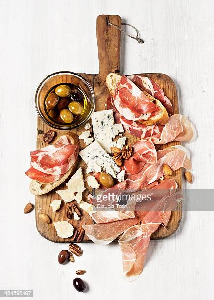 appetizer - pepperoni stock photos and pictures