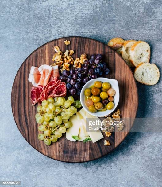 appetizer/antipasto - antipasto stock pictures, royalty-free photos & images