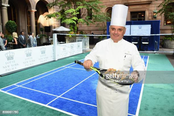 Appetizers served on a tennis during the 2017 Lotte New York Palace Invitational at Lotte New York Palace on August 24 2017 in New York City