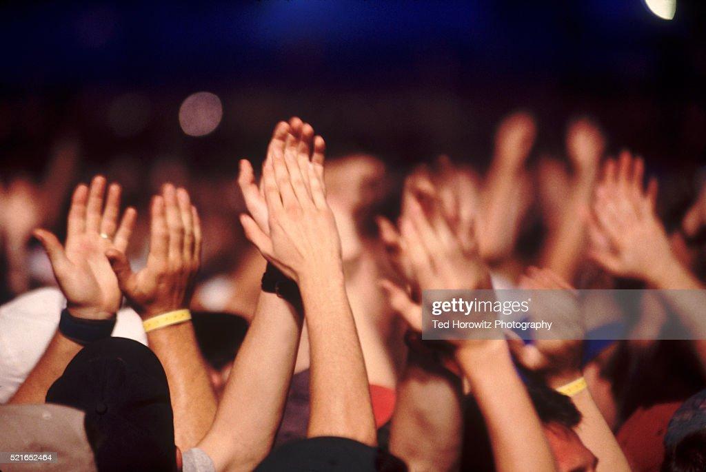 Applauding Audience : Stock Photo