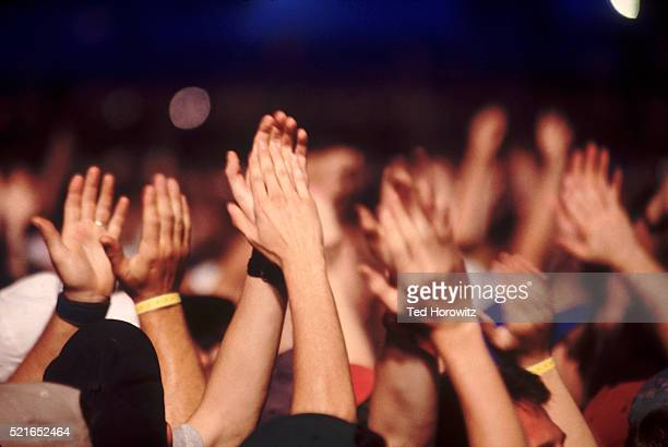 applauding audience - pop music stock pictures, royalty-free photos & images