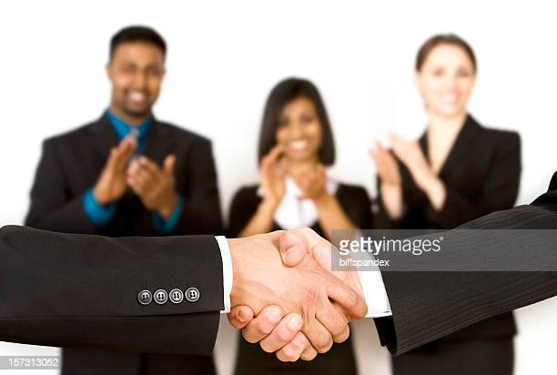 Applauding The Deal