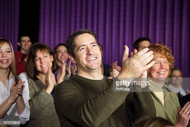 Applauding Theater Audience