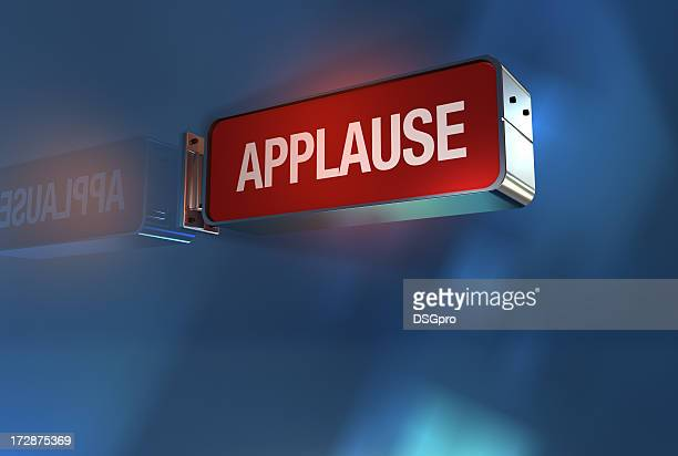 applause sign on