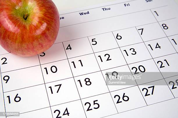 apple a day 2 - week stock pictures, royalty-free photos & images