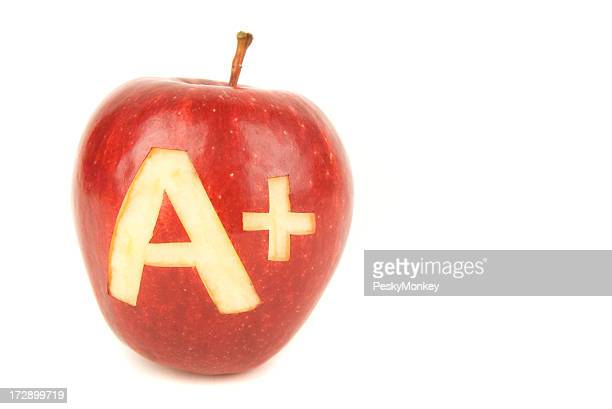 Apple A+ White Background