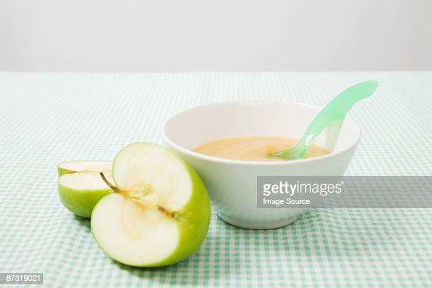 Apple and baby food